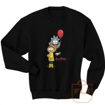 Rick and Morty Clown Sweatshirt