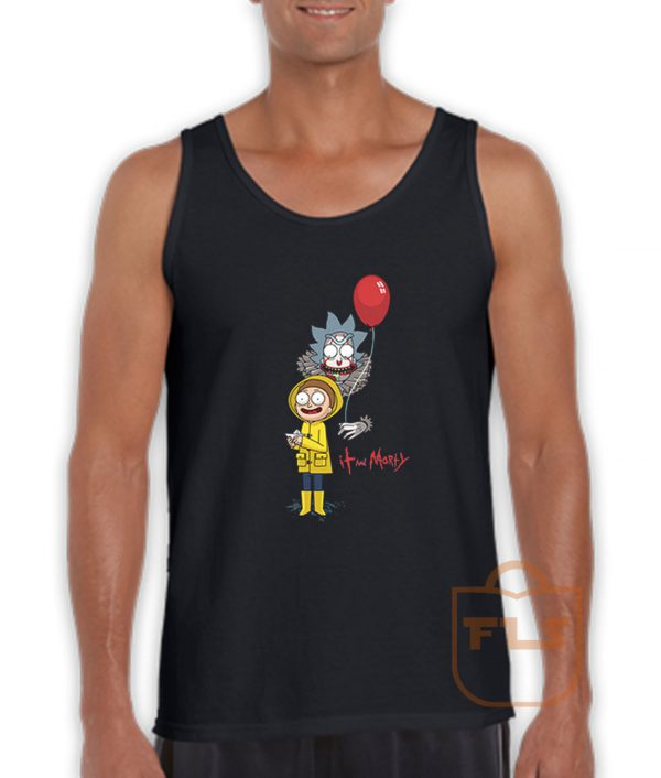Rick and Morty Clown Tank Top