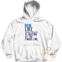 Run Like Shawn Mendes is Waiting at The Finish Line Hoodie