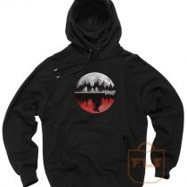 Stranger Things Moon Upside Down Hoodie