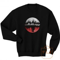 Stranger Things Moon Upside Down Sweatshirt