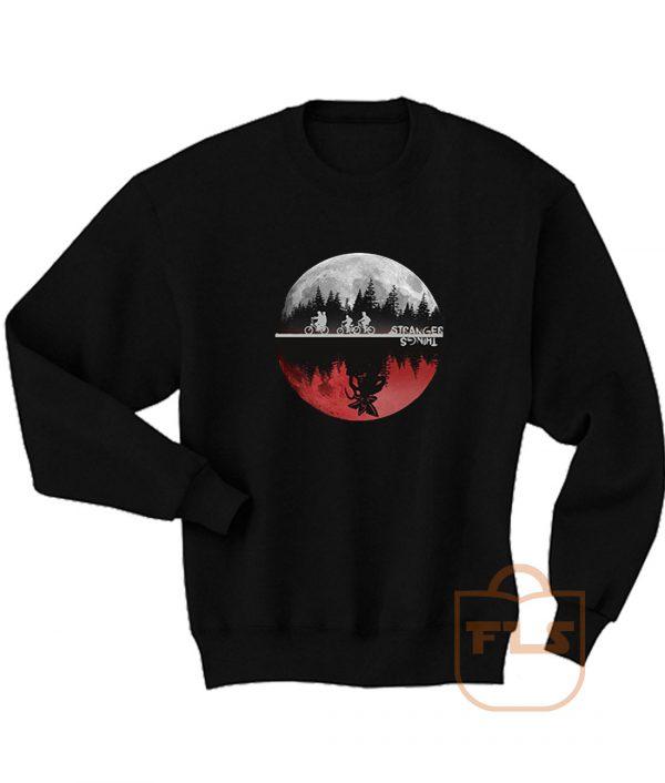 Stranger Things Moon Upside Down Sweatshirt