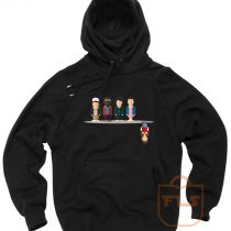 Stranger Things Upside Down Cartoon Hoodie