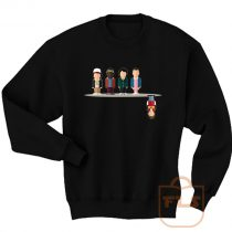 Stranger Things Upside Down Cartoon Sweatshirt