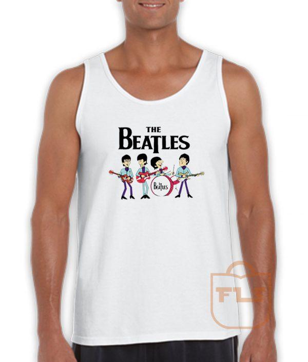 The Beatles Cute Tank Top