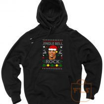 The Rock Jingle Bell Ugly Christmas Hoodie