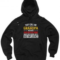 They Call Me Grandpa Pullover Hoodie
