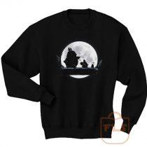 Totoro Moon Walk Sweatshirt Men Women