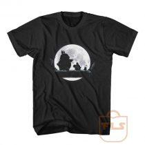 Totoro Moon Walk T Shirt Men Women