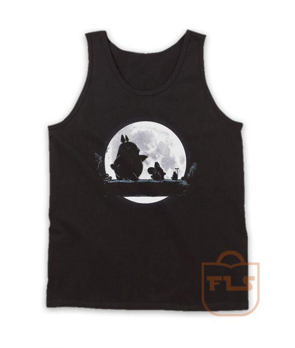 Totoro Moon Walk Tank Top