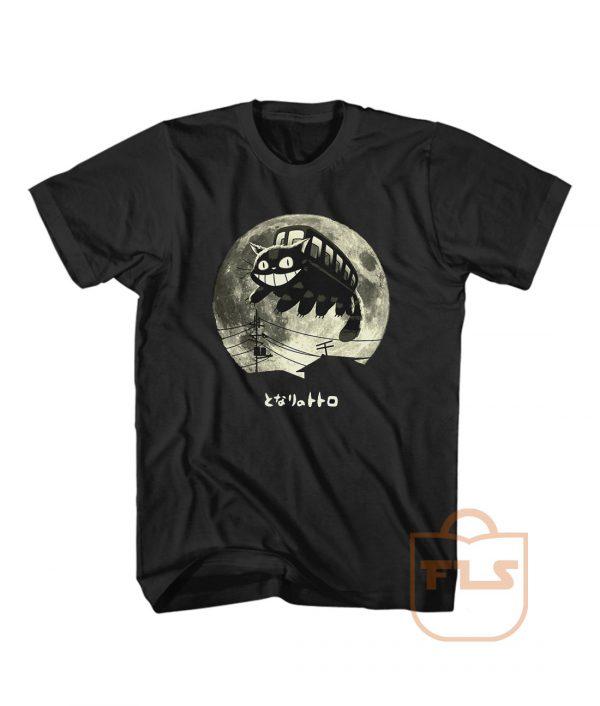 Totoro Studio Ghibli Catbus T Shirt Men Women