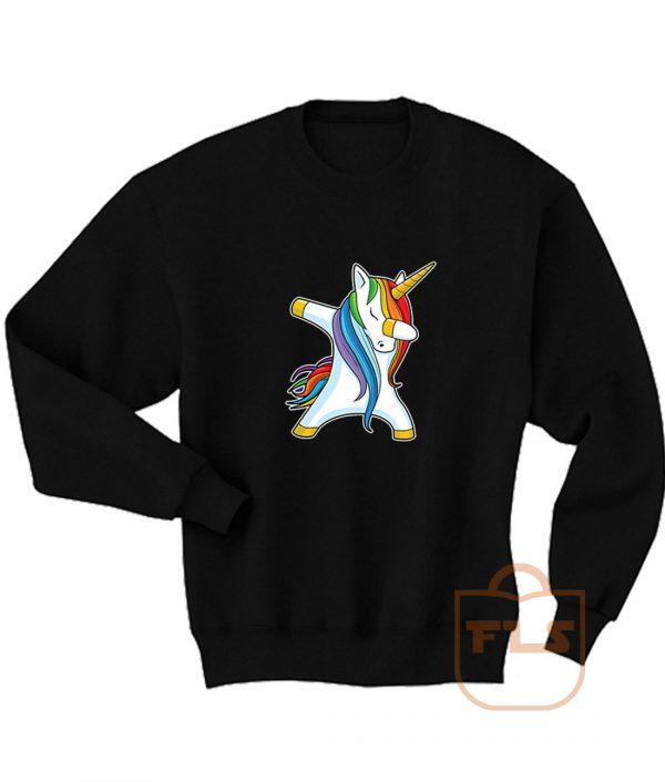 Unicorn Dabbing Sweatshirt