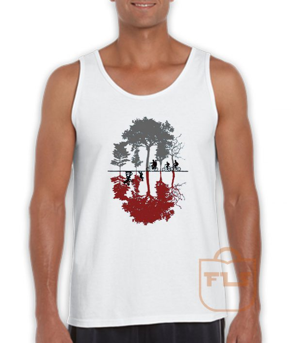 Upside Down Stranger Things Tank Top