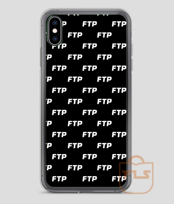 ALL OVER FUCK THE POPULATION FTP iPhone Case