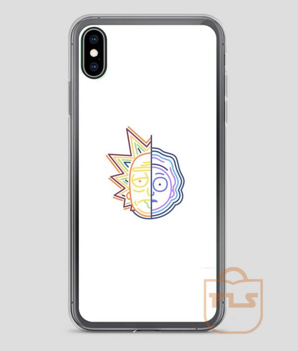 Abstract-Rick-iPhone-Case
