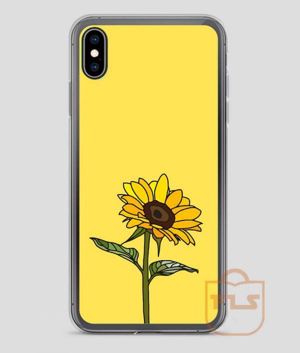 Aesthetic-Sunflower-iPhone-Case