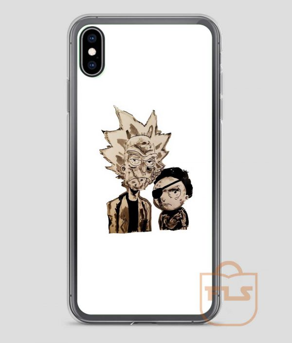 Amazing-Rick-and-Morty-iPhone-Case
