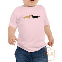 Dachshunds Dog Love Toddler T Shirt