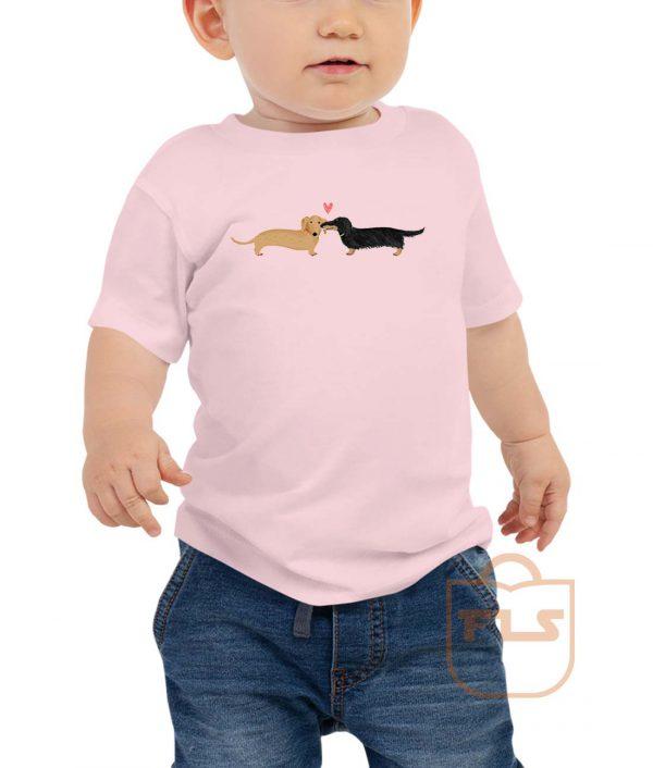 Dachshunds Dog Love Toddler T Shirt
