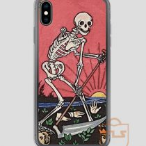 Death Tarot Vintage iPhone Case