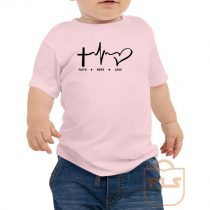 Faith Hope Love Toddler T Shirt