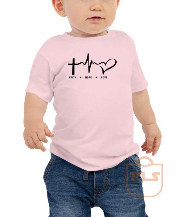 Faith Hope Love Toddler T Shirt