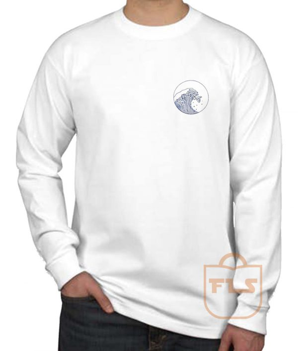 Giant Wave Pocket Long Sleeve Shirt