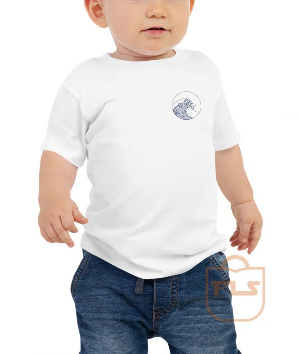 Giant Wave Pocket Toddler T Shirt