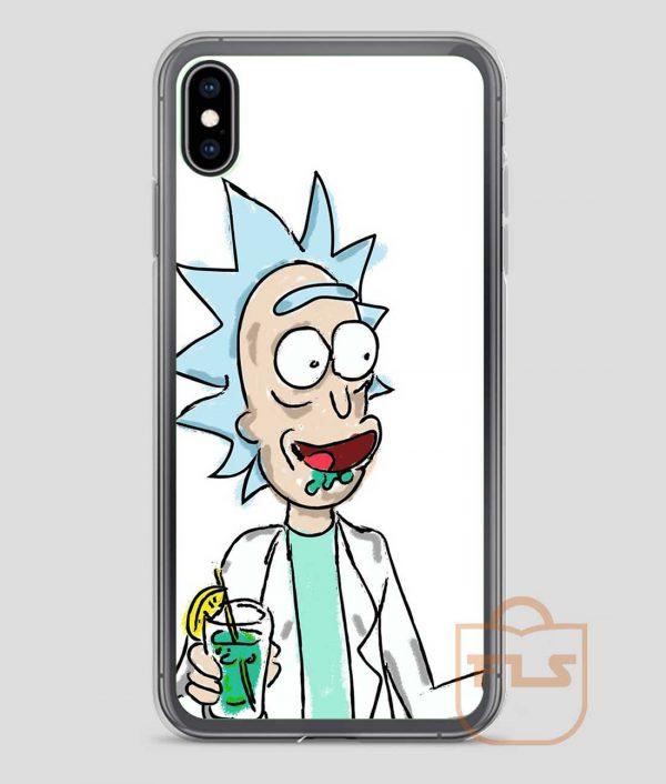 Happy-Rick-Happy-iPhone-Case