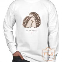 Hedge Hugs Valentine Gift Long Sleeve Shirt