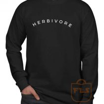 Herbivore Vegeterian Long Sleeve Shirt