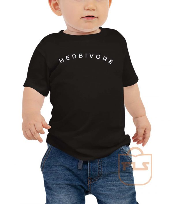 Herbivore Vegeterian Toddler T Shirt