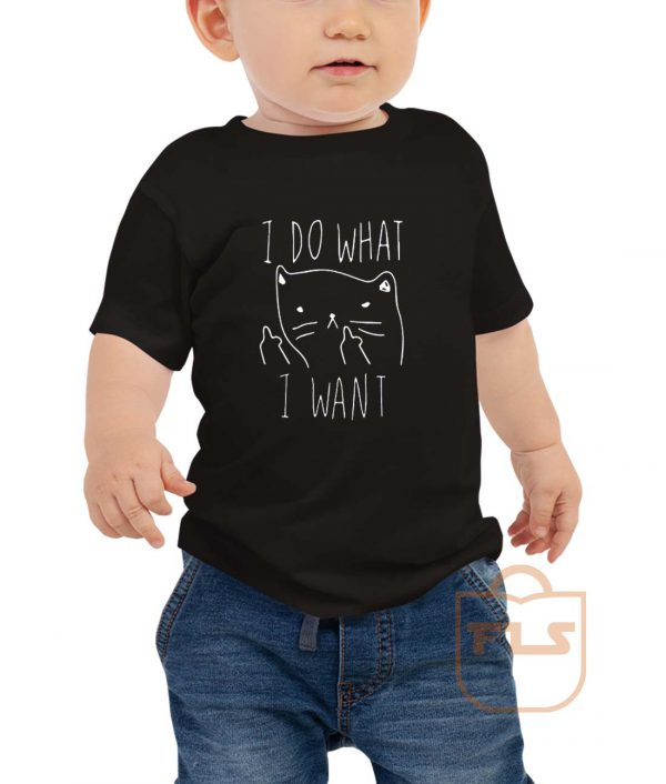 I Do What I Want Kitties Parody Toddler T Shirt