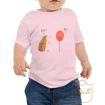 Impossible Love Hedgehog Ballon Toddler T Shirt