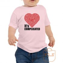 Its Complicated Heart Toddler T Shirt