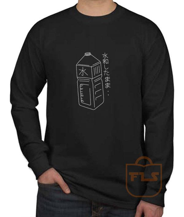 Japanese Water Bottle Long Sleeve Shirt