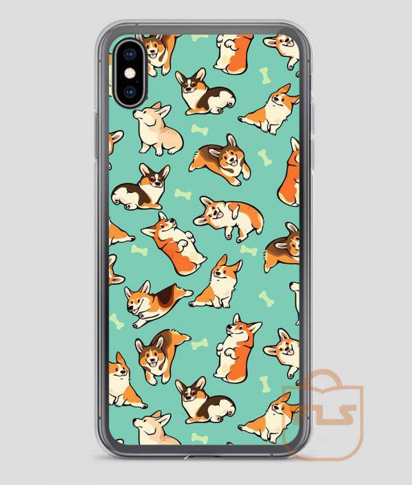 Jolly Corgis Cute iPhone Case