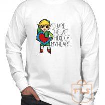Legend Of Zelda The Last Piece Long Sleeve Shirt