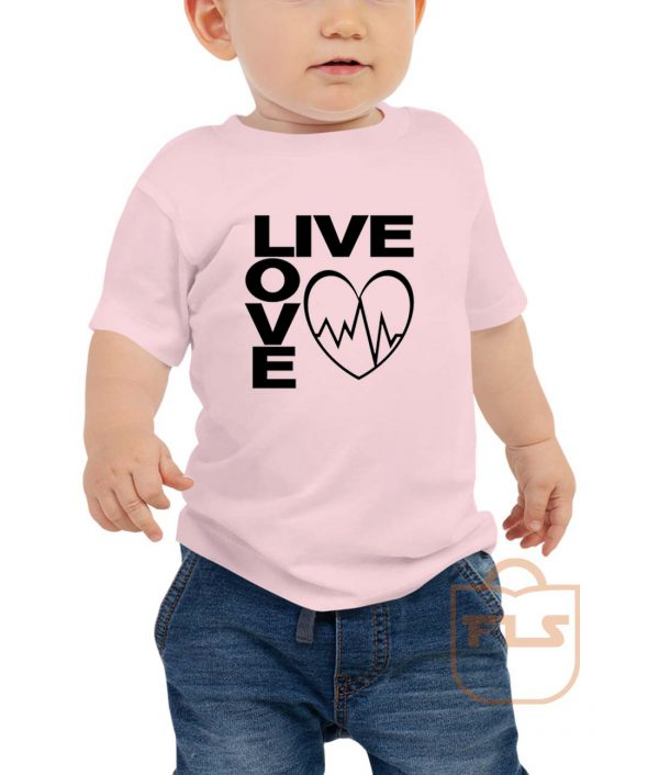 Live Love Toddler T Shirt