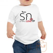 Love Thai Language Toddler T Shirt