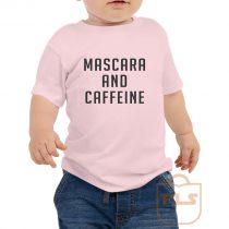 Mascara and Caffeine Toddler T Shirt