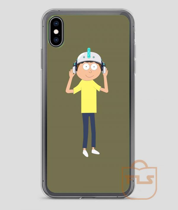 Morty-Cartoon-iPhone-Case