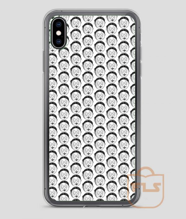 Morty-Face-iPhone-Case