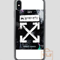 OFF-WHITE Galaxy Brushed iPhone Case