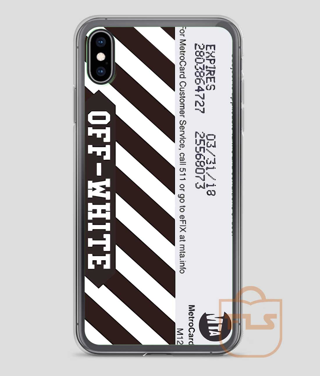 off white case iphone xr
