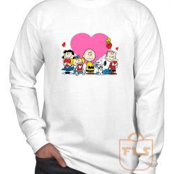 Peanuts Valentine Day Edition Long Sleeve Shirt
