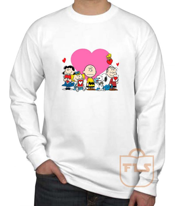Peanuts Valentine Day Edition Long Sleeve Shirt
