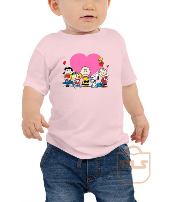 Peanuts Valentine Day Edition Toddler T Shirt