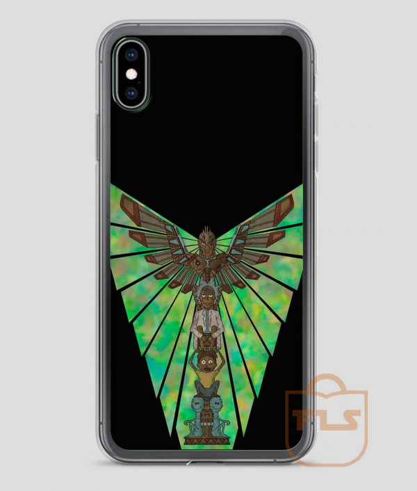 Phoenix-Person-Totem-iPhone-Case