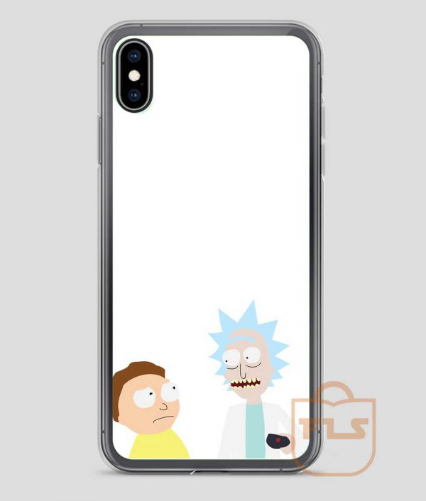 Rick-Morty-Painting-iPhone-Case